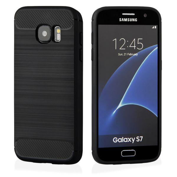 """Schutzhülle """"Black Armor"""" Samsung S7 Edge"""